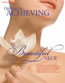 Living Magazine article, Dr Ducic explains neck plastic surgery..