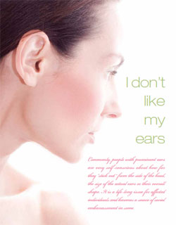 Living Magazine article, Dr Ducic explains otoplasty ear surgery.