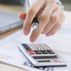 Financial form and calculator