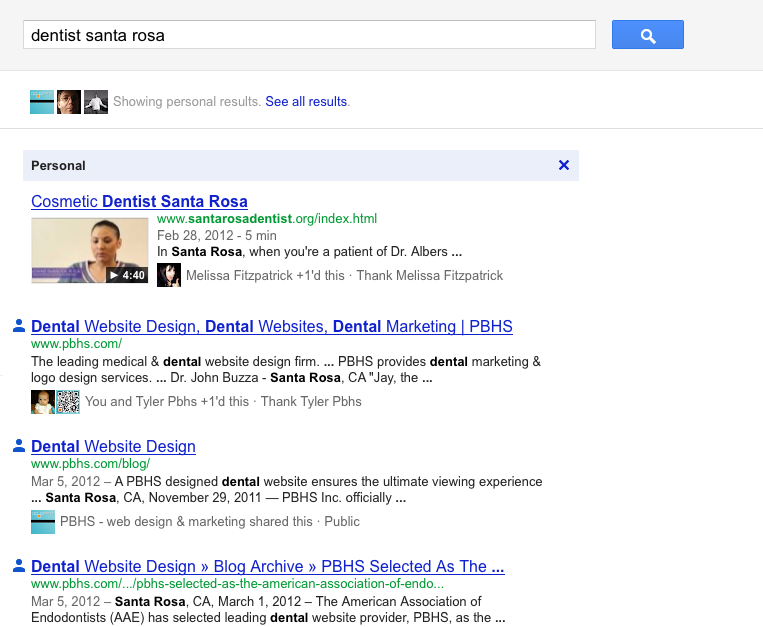 PBHS Search Results  for Dental Website Design