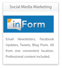 InForm's newsletters help you reach out to patients by PBHS, Dental Website Design