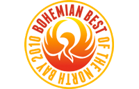 Bohemian award for Best of the Northbay for Dr. Buzza